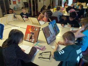 Glacier Hills-Kids' Paintings
