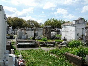 Lafayette Cemetery Easter
